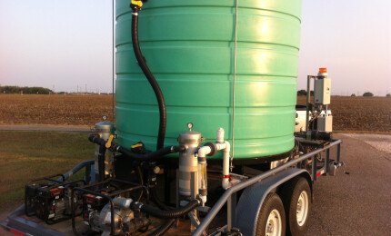 Oilfield Water Recycling